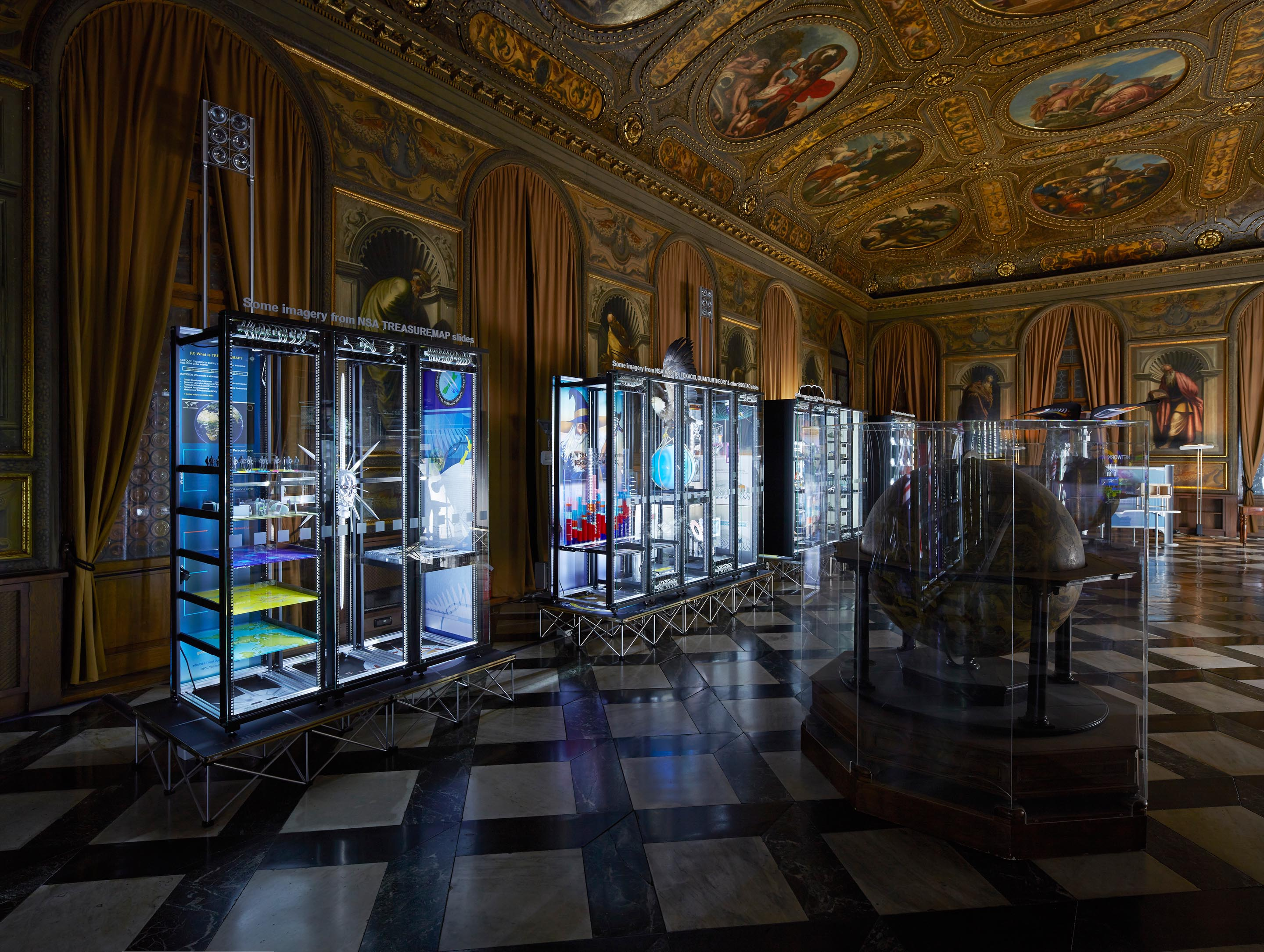 6_Secret Power_Simon Denny_Biblioteca Nazionale Marciana_Photo Nick Ash